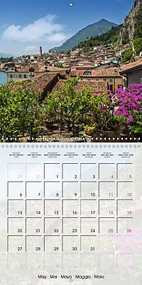 LAKE GARDA Idyllic Limone sul Garda (Wall Calendar 2019 300 × 300 mm Square) - Produktdetailbild 5