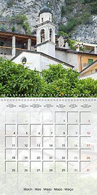 LAKE GARDA Idyllic Limone sul Garda (Wall Calendar 2019 300 × 300 mm Square) - Produktdetailbild 3