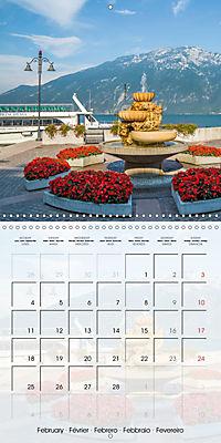 LAKE GARDA Idyllic Limone sul Garda (Wall Calendar 2019 300 × 300 mm Square) - Produktdetailbild 2