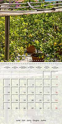 LAKE GARDA Idyllic Limone sul Garda (Wall Calendar 2019 300 × 300 mm Square) - Produktdetailbild 6