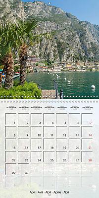 LAKE GARDA Idyllic Limone sul Garda (Wall Calendar 2019 300 × 300 mm Square) - Produktdetailbild 4