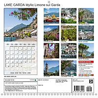 LAKE GARDA Idyllic Limone sul Garda (Wall Calendar 2019 300 × 300 mm Square) - Produktdetailbild 13