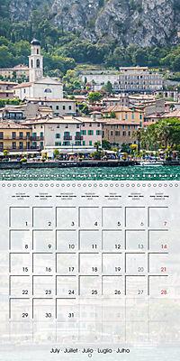 LAKE GARDA Idyllic Limone sul Garda (Wall Calendar 2019 300 × 300 mm Square) - Produktdetailbild 7