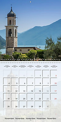LAKE GARDA Idyllic Limone sul Garda (Wall Calendar 2019 300 × 300 mm Square) - Produktdetailbild 11