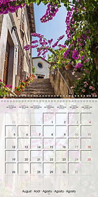 LAKE GARDA Idyllic Limone sul Garda (Wall Calendar 2019 300 × 300 mm Square) - Produktdetailbild 8