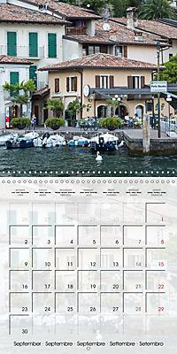LAKE GARDA Idyllic Limone sul Garda (Wall Calendar 2019 300 × 300 mm Square) - Produktdetailbild 9