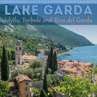 LAKE GARDA Idyllic Torbole and Riva del Garda (Wall Calendar 2019 300 × 300 mm Square), Melanie Viola
