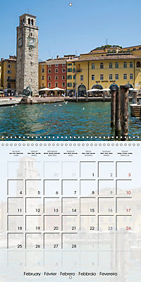 LAKE GARDA Idyllic Torbole and Riva del Garda (Wall Calendar 2019 300 × 300 mm Square) - Produktdetailbild 2