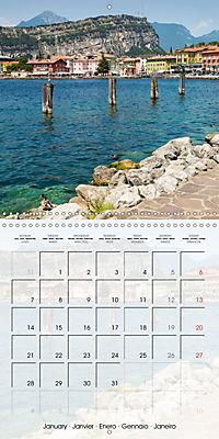 LAKE GARDA Idyllic Torbole and Riva del Garda (Wall Calendar 2019 300 × 300 mm Square) - Produktdetailbild 1