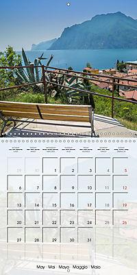 LAKE GARDA Idyllic Torbole and Riva del Garda (Wall Calendar 2019 300 × 300 mm Square) - Produktdetailbild 5