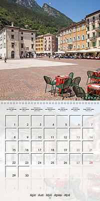 LAKE GARDA Idyllic Torbole and Riva del Garda (Wall Calendar 2019 300 × 300 mm Square) - Produktdetailbild 4