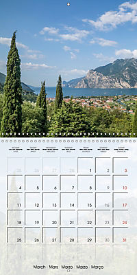 LAKE GARDA Idyllic Torbole and Riva del Garda (Wall Calendar 2019 300 × 300 mm Square) - Produktdetailbild 3