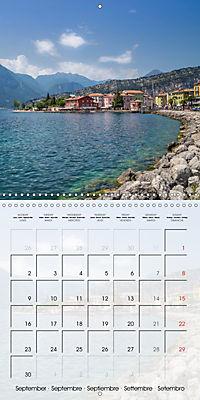 LAKE GARDA Idyllic Torbole and Riva del Garda (Wall Calendar 2019 300 × 300 mm Square) - Produktdetailbild 9