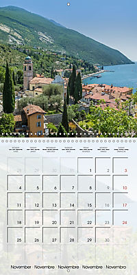 LAKE GARDA Idyllic Torbole and Riva del Garda (Wall Calendar 2019 300 × 300 mm Square) - Produktdetailbild 11