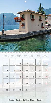 LAKE GARDA Idyllic Torbole and Riva del Garda (Wall Calendar 2019 300 × 300 mm Square) - Produktdetailbild 10