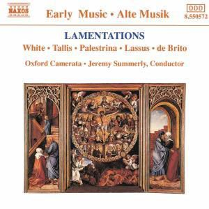 Lamentationes, Summerly, Oxford Camerata