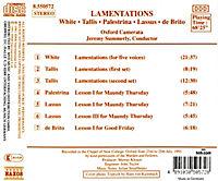 Lamentationes - Produktdetailbild 1