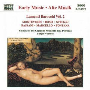 Lamenti Barocchi Vol.2, Sergio Vartolo, Cappella Mus.