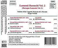 Lamenti Barocchi Vol.2 - Produktdetailbild 1