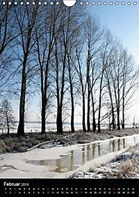 Land Brandenburg im Wechsel der Jahreszeiten (Wandkalender 2019 DIN A4 hoch) - Produktdetailbild 4