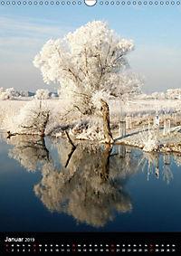 Land Brandenburg im Wechsel der Jahreszeiten (Wandkalender 2019 DIN A3 hoch) - Produktdetailbild 5