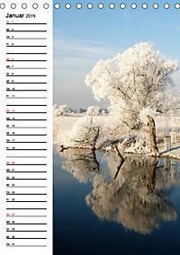 Land Brandenburg im Wechsel der Jahreszeiten (Tischkalender 2019 DIN A5 hoch) - Produktdetailbild 1