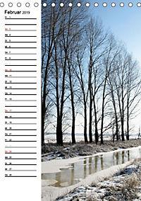Land Brandenburg im Wechsel der Jahreszeiten (Tischkalender 2019 DIN A5 hoch) - Produktdetailbild 2