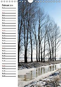 Land Brandenburg im Wechsel der Jahreszeiten (Wandkalender 2019 DIN A4 hoch) - Produktdetailbild 2