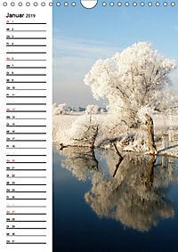 Land Brandenburg im Wechsel der Jahreszeiten (Wandkalender 2019 DIN A4 hoch) - Produktdetailbild 1