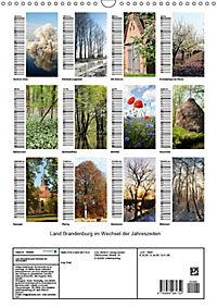 Land Brandenburg im Wechsel der Jahreszeiten (Wandkalender 2019 DIN A3 hoch) - Produktdetailbild 13