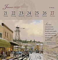 Land im Licht, Postkartenkalender 2019 - Produktdetailbild 4