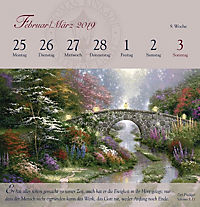 Land im Licht, Postkartenkalender 2019 - Produktdetailbild 9