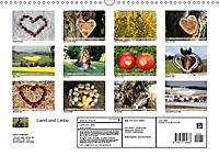 Land und Liebe (Wandkalender 2019 DIN A3 quer) - Produktdetailbild 13