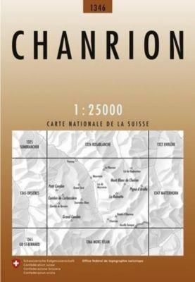Landeskarte der Schweiz Chanrion