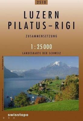 Landeskarte der Schweiz Luzern, Pilatus-Rigi