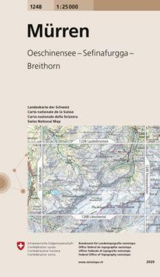 Landeskarte der Schweiz Mürren