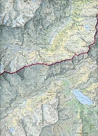 Landeskarte der Schweiz Saas - Produktdetailbild 2