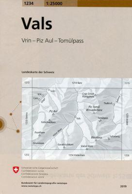 Landeskarte der Schweiz Vals -  pdf epub