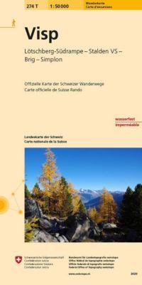 Landeskarte der Schweiz Visp