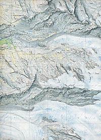 Landeskarte der Schweiz Zermatt - Produktdetailbild 1