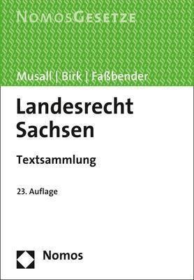 Landesrecht Sachsen -  pdf epub