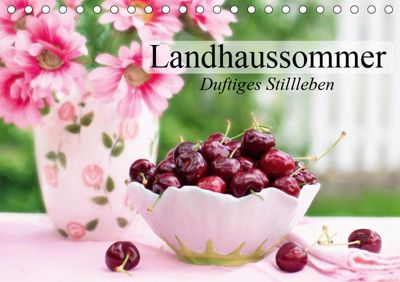 Landhaussommer. Duftiges Stillleben (Tischkalender 2019 DIN A5 quer), Elisabeth Stanzer