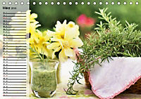 Landhaussommer. Duftiges Stillleben (Tischkalender 2019 DIN A5 quer) - Produktdetailbild 3