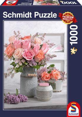 Landhausstil und Rosen (Puzzle)