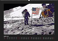 Landing On The Moon Like A Cartoon (Wandkalender 2019 DIN A2 quer) - Produktdetailbild 6