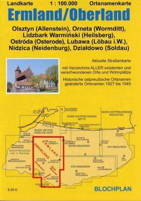 Landkarte Ermland/Oberland 1:100.000 - Dirk Bloch |