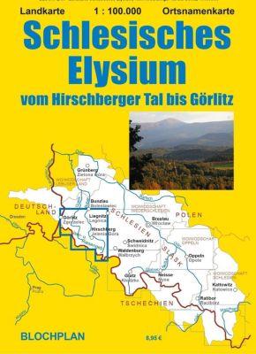 Landkarte Schlesisches Elysium - Dirk Bloch |