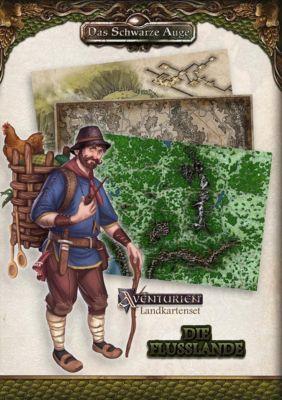 Landkartenset - Die Flusslande