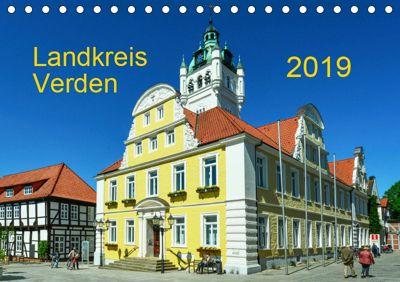 Landkreis Verden (Tischkalender 2019 DIN A5 quer), Heinz Wösten