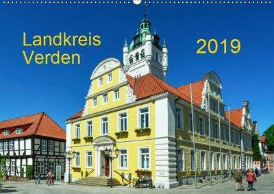 Landkreis Verden (Wandkalender 2019 DIN A2 quer), Heinz Wösten